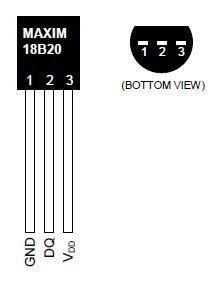 ds18b20-pinout