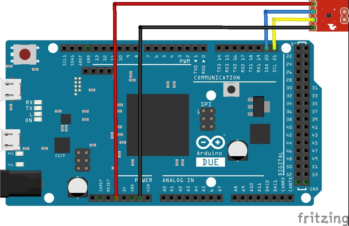 arduino due and TMP102
